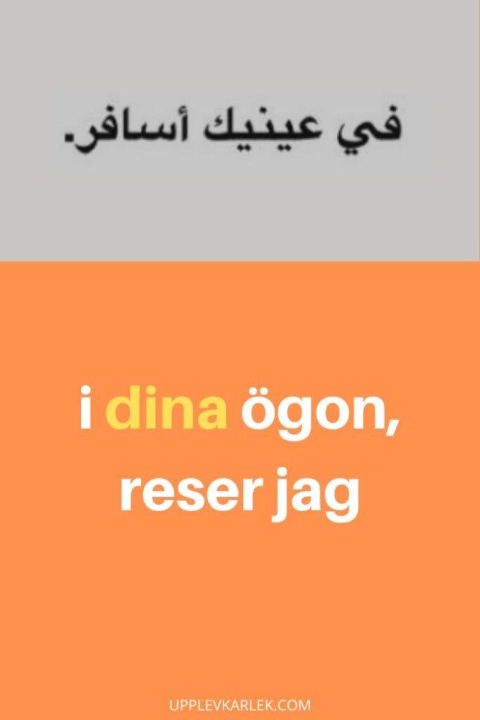 arabiska citat kärlek