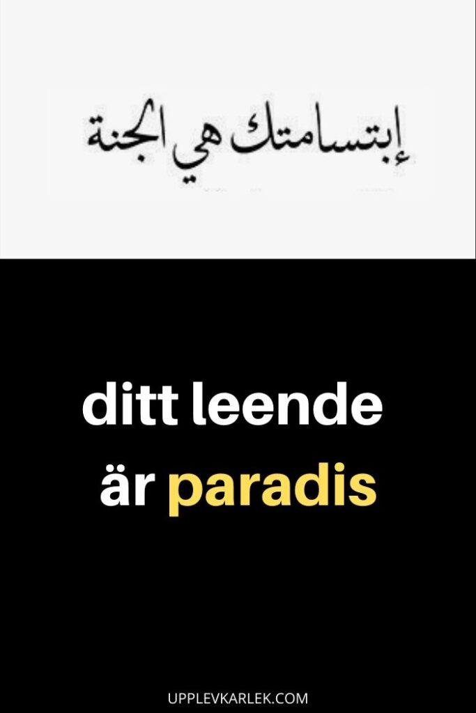 kärleks citat arabiska