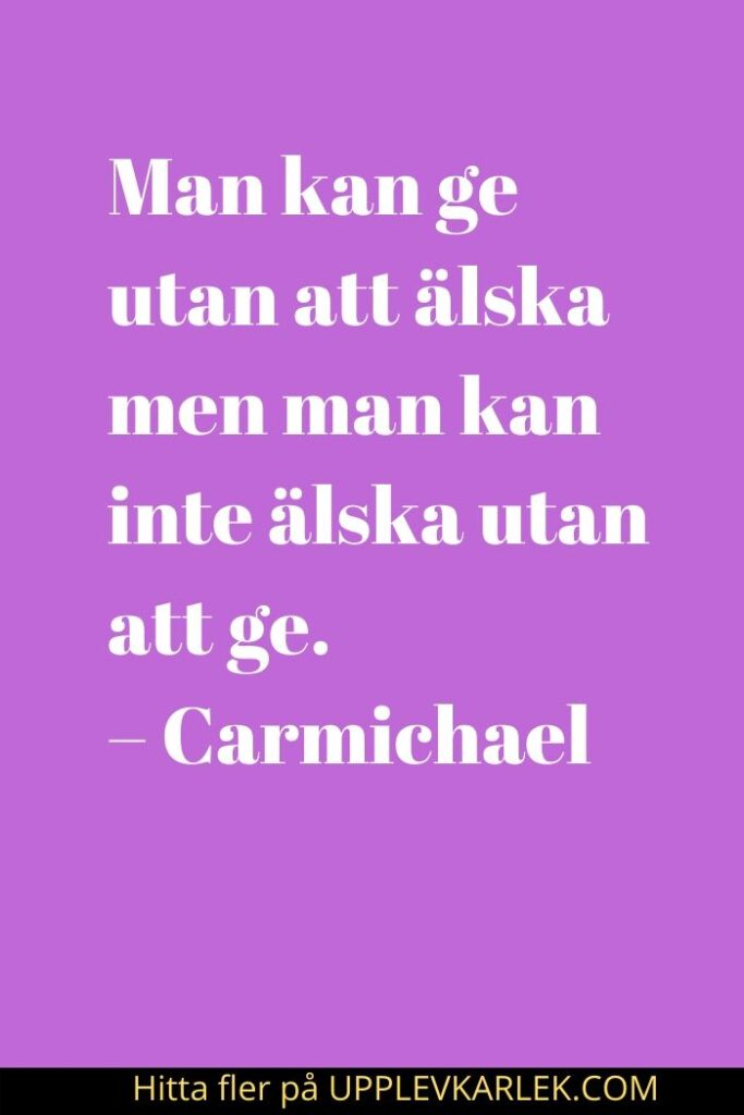 Kärlek Citat På Svenska