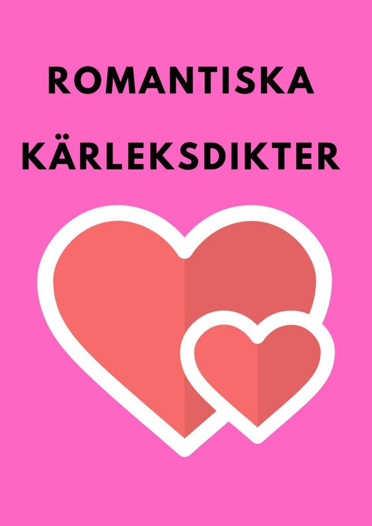 romantiska kärleksdikter
