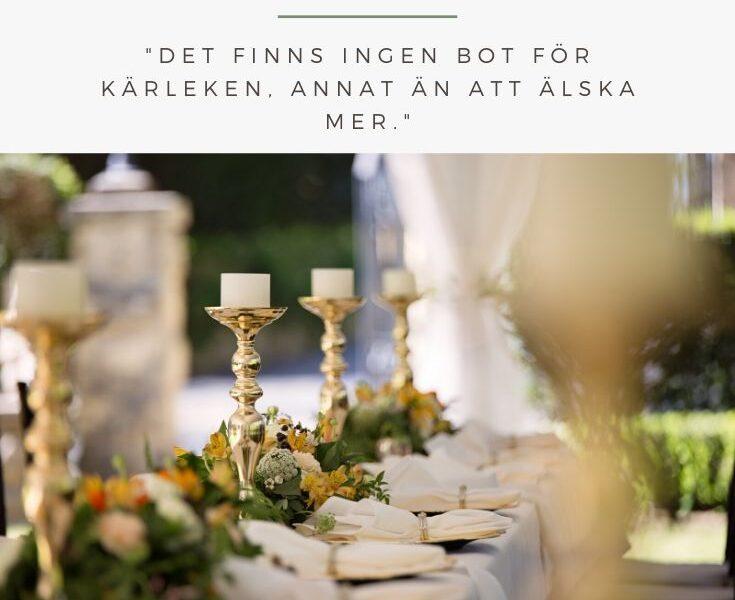 kända bröllopscitat