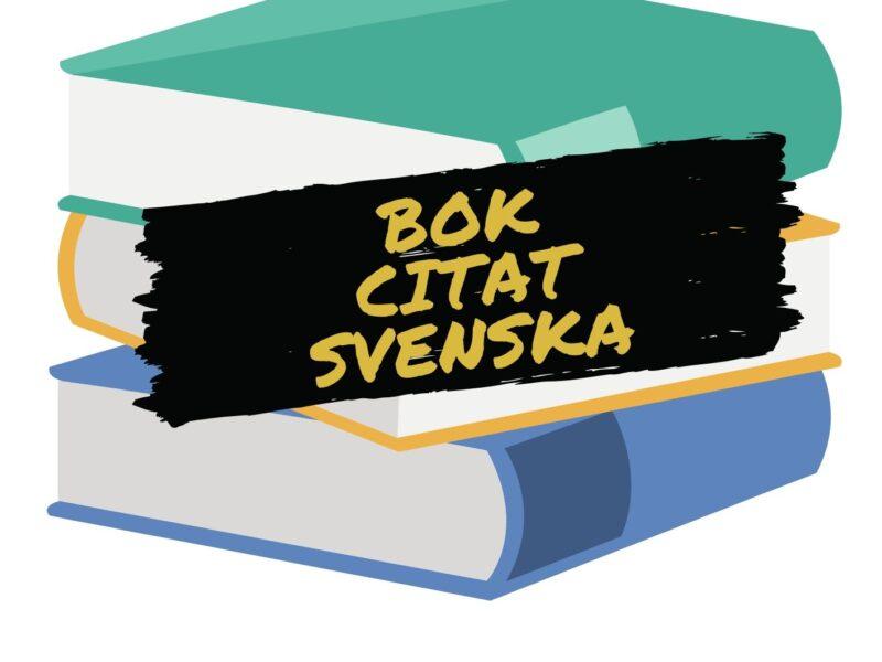 bok citat svenska